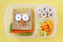 little ones {playing with food} / Cute food for kids.