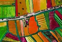 World is our canvas / Colours, colours, colours.