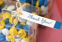 Thank You Gifts & Notes / After hosting or attending a gathering large or small, we recommend a follow-up thank you if you had a ball.