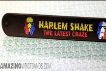 Harlem shake wristbands / Be the one to show your craze regarding Harlem shake meme song by using Harlem shake wristbands. Go trendy by adding your own fun artworks and texting styles. Check this pin board to see what our customers recently made with the help of our online wristband builders. / by Amazing Wristbands