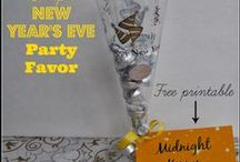 New Years Eve / Easy and inexpensive ways to make New Years Eve special!