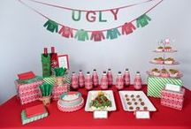 Ugly Sweater Party / Who doesn't love an Ugly Sweater Party?