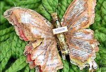 Paper butterflies / butterflies