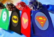 Superheroes / Super hero parties and play ideas.
