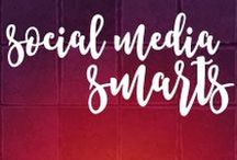 Social Media Smarts / Social media marketing, #SMM, has done so much for brands, big and small. If you've yet to embrace the #socialmedia smarts and savvy waiting to launch your brand, it's time to kick it up a notch!