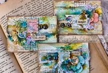 Playing with colour / Colourful crafty ideas and inspiration for use of colour
