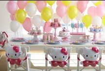 Hello Kitty Party Ideas / Hello, Kitty! Create a party based on the iconic Sanrio character. / by Evite
