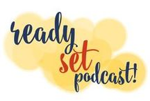Ready Set Podcast! / After a brief career stint which landed me on television, I've realized I prefer to remain off camera. #Podcasting is preferable to video for this #social media marketer and #designer. / by Go Creative Go