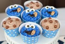 Cookie Monster Party / C is for Cookie, and no one loves parties as much as the Cookie Monster! Create a party based on everyone's favorite sweet snacker.