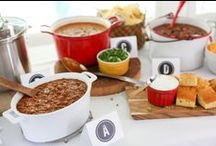Chili Cook Off Ideas / Be a part of #HormelChiliNation when you throw a Chili Cook-off for you and all your friends! / by Evite