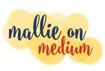 Mallie's Moments on Medium / I'm testing the republishing waters by putting some of my older, more mature, musings on Medium.com. / by Go Creative Go