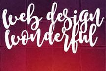 Web Design Wonderful! / When it comes to making your brand visible, the first rule is to create a web design that rocks and resonates!