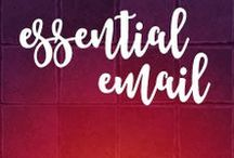 Essential Email Marketing / It's important, in this time of digital divide, to focus on the online real estate you own. Your #website, of course, but also your #email #list!