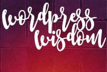 Wordpress Wisdom: Makes The Web Wonderful! / Wordpress Web Design is the only kind of web design we dig! When it comes to #webdesign and #webdevelopment, #Wordpress is the wise choice!