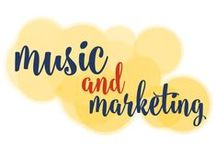 Music & Marketing Monday / I love #music even more than #marketing, if you can imagine that! So, I decided to combine the two and start a series of blog posts that tie the music I love to marketing principles and best practices! / by Go Creative Go