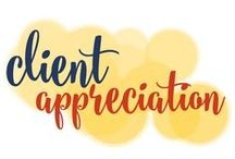 Peer, Prospect & Client Appreciation / Everyone likes to feel appreciated. It's especially important when you're wooing a prospect or trying to convert a repeat client! / by Go Creative Go