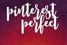 Pin Perfect On Pinterest! / When you're marketing visually, you just can't beat #Pinterest. It drives traffic, gets the creative juices flowing and can be so very inspirational for #visual #marketers.