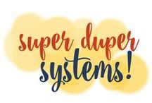 Systems Are Super Duper! / Systems, and the tools that help create them, can make a huge difference when you're running a small business! / by Go Creative Go