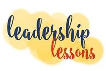 Leadership Lessons / Leadership. It's a hot topic. What makes a leader? Is there only one way to lead?