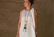 AMALTHEE CREATIONS : Silk and linen / neutral colors / SPRING/SUMMER COLLECTION AVAILABLE ON OUR WEBSITE