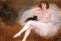 Black Cats   Fine Art / For my black cat, Buddy Love / by Sandy Weinstein