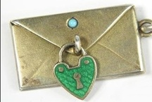 """Charms   Hearts / """"When you wear a charm bracelet you are never alone."""" — Joan Munkacsi. A selection of fabulous heart charms from Victorian times to the present. If you like a charm and would like to purchase it, click the image or link to see if it's still available. / by Sandy Weinstein"""