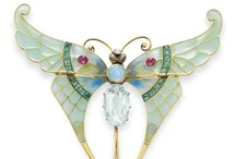 Baubles   Art Nouveau / A collection of wonderful Art Nouveau or Art Nouveau-inspired jewelry and trinkets. If you like a piece and would like to purchase it, click the image or link to see if it's still available. / by Sandy Weinstein