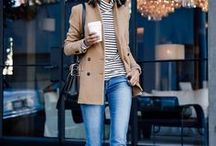 Fall Fashion / Fall Fashion inspiration.  What to wear when the weather turns chilly.