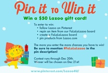 falalalazoo pin-it-to-win-it / by LAZOO