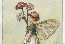 Fairies & flowers (Cicely Mary Barker)