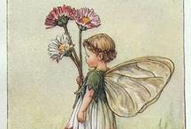 Fairies & flowers (Cicely Mary Barker)