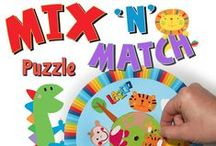 puzzling tuesday! / http://www.lazoo.com/activity/category/crafts-all/puzzles/ / by LAZOO