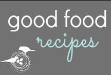 Good Food Recipes / Food & family are two of my favorite things.  Easy recipes to get dinner on the table fast with a healthy twist!