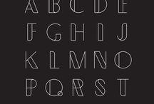 fonts, texture, design