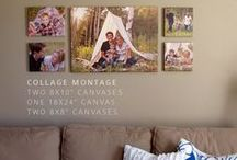 Wall Displays & Framing / Various ideas for displaying pictures in wall displays, frames or decoration around the house