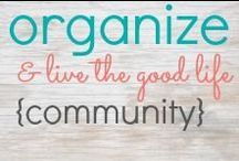 organize & live the good life / {Community Board}  Taking the reins of life and getting things more organized and under control can have a profound impact on you, your family, and your happiness!  Nothing to it but to do it.  Find inspiring organizing ideas here!  ------------------------------------------- To join this board, please follow me on Pinterest, then email and ask for an invitation. More the merrier! jennifer@pureandsimpleorganizing.com