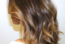 Hair cut and color ideas / by Josie Meyer