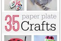 Paper Plate Crafts / by December Graves Brown