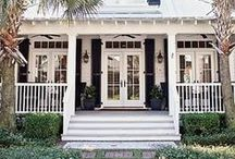 Front porch / Decor inspiration for my dream front porch / by Vanessa | Damask & Dentelle