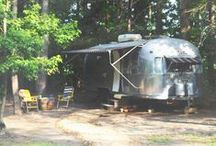 Farm Living | Vintage Camping / Camping out on the farm in renovated RVs.