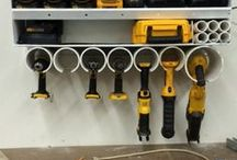 Organize The Garage / Organizing tips and tricks to get your garage or storage shed in ship shape!