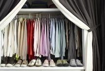 Organize The Closets / Organizing tips for all those closets in your home.  Bedroom closet, coat closet, linen closet, etc.  More organizing tips for jewelry and accessory storage