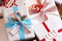 Christmas Gift Ideas / Ideas for all those on your gift list + a little gift wrapping inspiration.