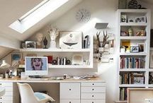 Decorate | Attic Rooms / Small attic rooms can be hard to stage and decorate. Decorating ideas from paint color and furniture selection.