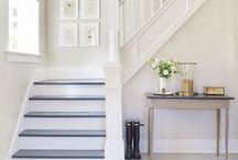 Decorate | Entrys, Hallways, Stairs / Decorating ideas for your home's entryway.