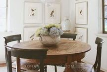 Decorate | Dining Rooms / Decorating ideas for the dining room.