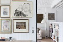 Decorate | Gallery Walls / Gallery Wall Ideas
