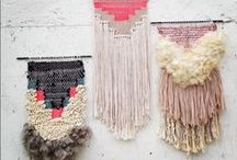 Wall decor / About Scandinavian rye rugs, hangings, dreamcatchers and other textile wall decor.