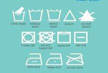 Organize The Laundry Room / Organizing tips on how to organize (and decorate) one of the most utilitarian spaces in your home - the laundry room.