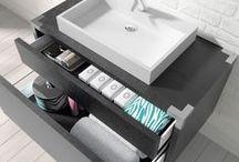 Bath Furniture / Bath furniture collection. Mobiliário para casa de banho. Fonte de inspiração para um ambiente relaxado. O esplendor de uma sala de banho.